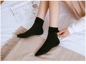 5 pairs of autumn and winter warm middle tube snow socks unisex thick sports socks women socks custom made