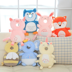 Toddler Headrest Pillow Baby Head Protection Safety PadBaby Neck Cute Wings Nursing Drop Resistance Cushion Baby Protect 7 Designs DW4214