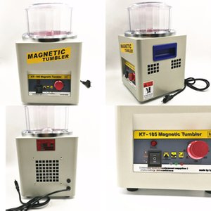 Electric cleaning polishing KT-185 magnetic deburring machine tool equipment, jewelery Goldsmith 220V 110V