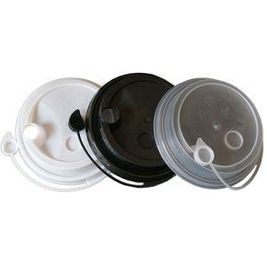 البلاستيك كأس غطاء الحليب شرب الشاي pp كأس المتطابقة مع 90 كأس العيار استخدام عصير القهوة حليب الشاي شرب غطاء عيار 90 ملليمتر WL9002