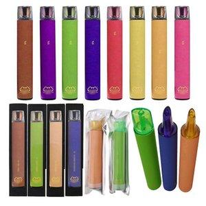 Disposable vapor Buttonless vape pen battery 8.5ML cartridge vaping tank slim flat 8.5ml 2000 Puffs puff MAX manufacture