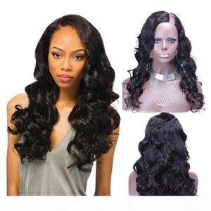 Side u Part Wigs Body Wave For Black Women Glueless Upart Wig Pre Plucked Virgin Brazilian u Part Human Hair Wigs
