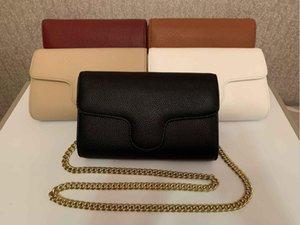 Роскошная дизайнерская сумка сумка классический шаблон материал золотая цепь серебряные сумки модные