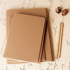 16K Kraft Paper Notebook B5 Retro Cover Hand Copy Notepads Blank Stitch Notepad kraft Notebooks Daily Paper A05