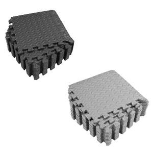 24pcs EVA Foam Gym Mat con azulejos de enclavamiento para el equipo 30x30cm
