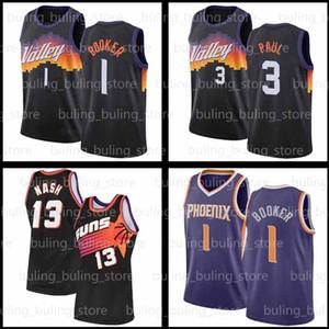 Devin 1 Booker Jersey Chris 3 Paul 2021 Neue PhoenixSonnen?Steve NCAA 11 Nash Charles 34 Barkley Auburn College Basketball-Trikots