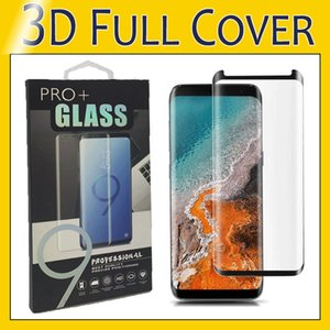 For S10e S10 plus Good Quality Screen Protector Tempered Glass Case Friendly Film For Samsung S9 S8 Plus Note 9 8 S7 Edge with Package