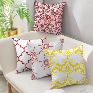 Fuwatacchi Mandala Pillow Cover Classic Geometric Decoration Pillowcase Fall Throw Pillow for Sofa Seat Cushion Cover Home Decor