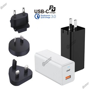 65W USB C PD Adapter Gan PPS 65W Chargeur Type C Chargeur pour pour iPhone Xiaomi Portable Note 20