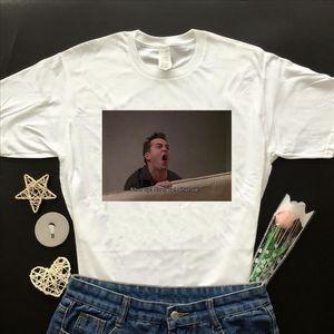 Fashionshow JF Friends TV Show Funny Quotes Shut Up Shut Up Printed T Shirt Man Women Short Sleeve Cotton Tee Tops