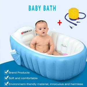 Портативная ванна надувная ванна для ванны для ванны для бани Child Couse Cushion Теплая Победитель Держите теплый складной портативный ванна с воздушным насосом Бесплатный подарок