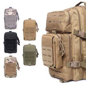 Tactical Laser Phone Bag Molle Waist Belt Phone Pouch Cellphone Pouches Universal Accessory Bags