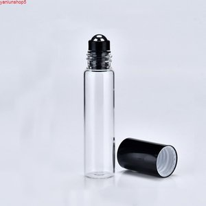 24 pcs / lote 5ml frasco de perfume vidro vazio rolo no rolo para óleos essenciais Roll-on recarregável recipiente de desodoranteGood quantidade