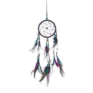 Bunte Wolle Dream Catcher Wind Chime Net Home Möblierung Indoor Neue Trend Anhänger Ornament Wand Hanging Feder Neue Ankunft 10 5xr M2