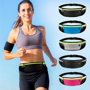 Waterproof Running Waist Bag Polyester Sports Jogging Portable Outdoor Phone Holder Belt Bag Women Men Fitness Sport Accessories