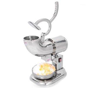 Concasseurs à glace entièrement en acier inoxydable Shavers Machine de mélangeur de machine à glaçons électrique pour la boutique de bar à café 220V / 110v1