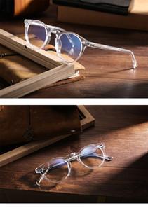 Verres optiques vintage cadre lunettes rondes Gregory Peck OV 5186 Lecture lunettes femmes et hommes lunettes lunettes de lunette