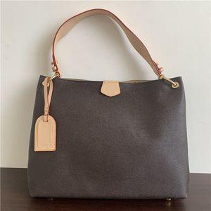 2020 borse in pelle moda classico donna borsa a tracolla donna maniglia singola tote shopping bags 39x12x34cm