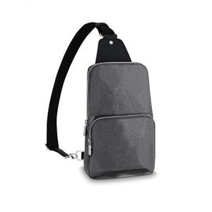 Genuine de couro marca homens avenue sling sacos de ombro designers de luxo crossbody bag saco de peito de alta qualidade esporte ao ar livre curso de viagem bolsa bolsa