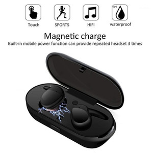 Wireless Bluetooth Earbuds Jerry 5.0 Sports Earphones Noise Reduction Bass Stereo Headphones TWS Wireless Bluetooth Headset1