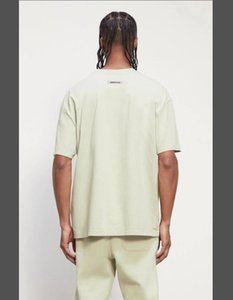 TOP Tee Sleeve New Sage Tee Fear Of Essential Short 2021SS FG Printed T-shirt Casual Breathable God Qsfqv Street Green Skateboard QUALI Ucbp