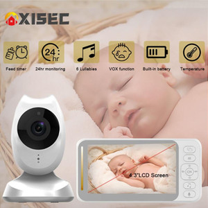baba eletronica monitor 2.4Ghz portable rear view Surveillance camera wireless babysitter video nanny two-way audio night vision