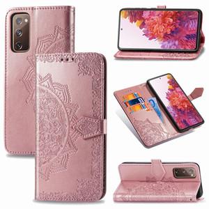 Flip Case para Samsung Note 20 Ultra 8 9 S20 Fe S10 S9 S8 Plus Capa para Galaxy A31 A51 A71 A21S A41 Carteira de couro de luxo
