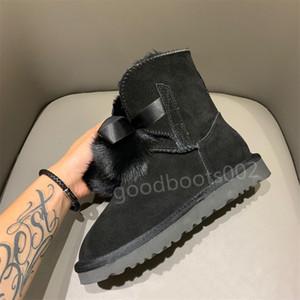 2020 New women fashion snow boots winter boot mini ladies mini ankle classic girls womens triple navy boots black size 35-40