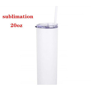 Dhl Sublimation Skinny Tumbler 20oz Stainless Steel Slim Tumbler Thin Tall Beautiful Travel Mug Bes jllDOU bdefight