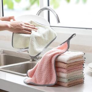 البقعة!! تنظيف الملابس الرئيسية مطبخ المنزلية غسل الملابس المنفضة متعددة الوظائف مجهرية فوط تنظيف القماش FWD3040