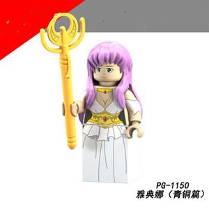 2020 Nuovi arrivi Original Anime Minifigure Assemblare Building Block Miniature Giocattolo educativo per figure per bambini Giocattolo d'azione