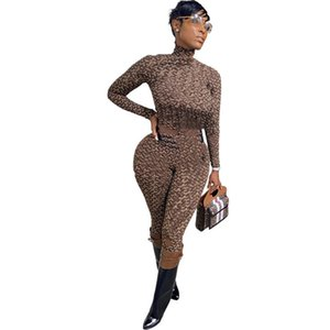 Womens long sleeve outfits 2 piece embroidery set tracksuit shirt legging jogging sportsuit sportswear sweatshirt tights hot klw5575