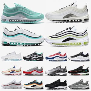 Chunky Dunky 97s Sean Wotherspoon Casual Shoes Casual World Bred Triple Black White Women Femmes Baskets Sports de plein air 36-45