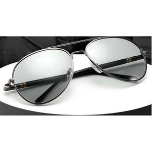 Классический цвет, изменяющий поляризованные мужские езды солнцезащитные очки вождения очки день и ночь