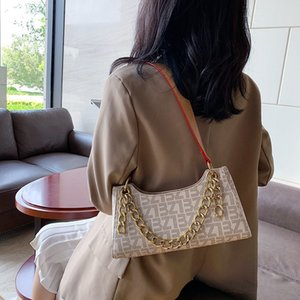2020 Western Style Womens Bag Popular New Fashion Sense of Quality Bag All-Matching Shoulder Underarm Bag Portable Cloud