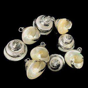 Loose Conch Hoop Dangle Earrings Gold Plated Ocean Seashell Drop Dangling Earrings Pendant Dropping Jewelry Diy Parts Crafts H jlluIh
