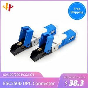 Promotion FTTH ESC250D UPC Single-Mode Fiber Optic SC  UPC Quick Fast Field Assembly Connector1