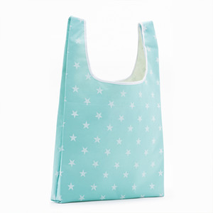 Tasca quadrata da donna shopping bag sacchetto di caramelle 21 colori disponibili eco-friendly riutilizzabile pieghevole poliestere riutilizzabile borse da borse