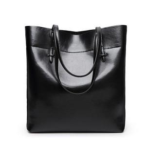 Designer-Real Genuine Leather Women Shoulder Bag High Quality Designer Leather Handbag Female Big Tote Ladies Hand Bags for women N418