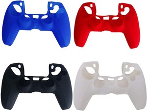 Game Accessories 4 Pack Silicone Case Cover Skin for PS5 DualSense Controller