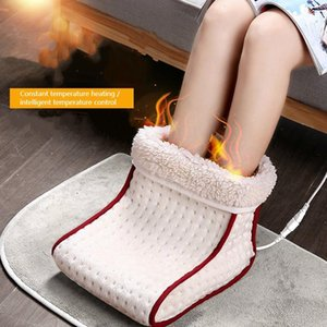 Smart Electric Heaters Warm Heated Foot Heating Pad Warmer Washable Heat 5 Modes Settings Care Cushion Thermal
