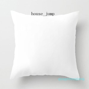 Pure Color Pillow Square Soft Blank Home Decor Cushion Cover Sofa Throw Pillow Factory Direct Sale White Non-woven Cushion Core