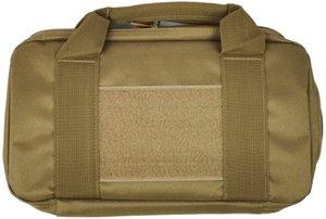 Tactical Gun Bag Caso Pistol Carry Bag Revólver Holster acolchoado Pistol portador Caça Acessórios Kit Pesca Durable