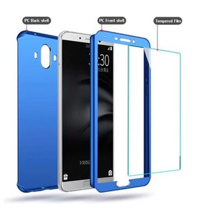 front and back protection 360 Full Cover Phone Case with glass for iphone 12 11 pro max Samsung S20 note20 note10 ultra