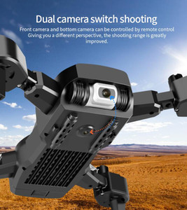 Hot sale NEW Drone 4k profession HD Wide Angle Camera 1080P WiFi fpv Drone Dual Camera Height Keep Drones Camera Helicopter Toys
