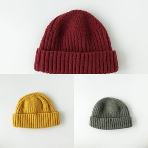 ODpt Fashion polo winter beanie men hat casual knitted sports cap designer black Bonnet ski baby blue red Knit gorro grey hat knit kit luxur