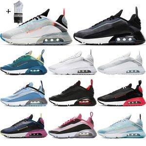 2090 رداء البط الرديء 2090 Mens running shoes Pure Platinum 2090s Photon Dust Clean White black men women Outdor designer sinks 36-45