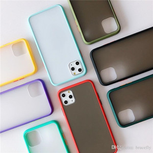 New skin Phone Case for iPhone 11 pro max X XR XS Max 6 6s 6plus 7 7plus 8 8plus 3D Protection Defender Cover Back PC+TPU frosted phone Case