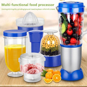 230W Multifuction Processer Stainless Steel Grinding Miller Portable Juicer Soybean Milk Machine With Double Stirring Blade1