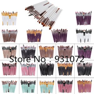 2018 New 100 sets Brand new Professional 20pcs Makeup Brushes Eyeliner Lip Cosmetics Brush